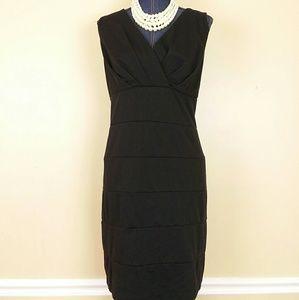 B smart black dress
